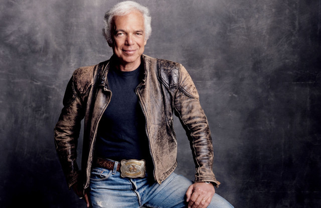 Portrait of Ralph Lauren (Courtesy of WWD)