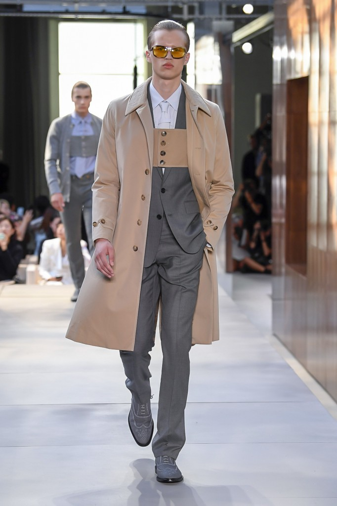 Burberry's spring 2019 show (Photo Courtesy of Vogue.com)