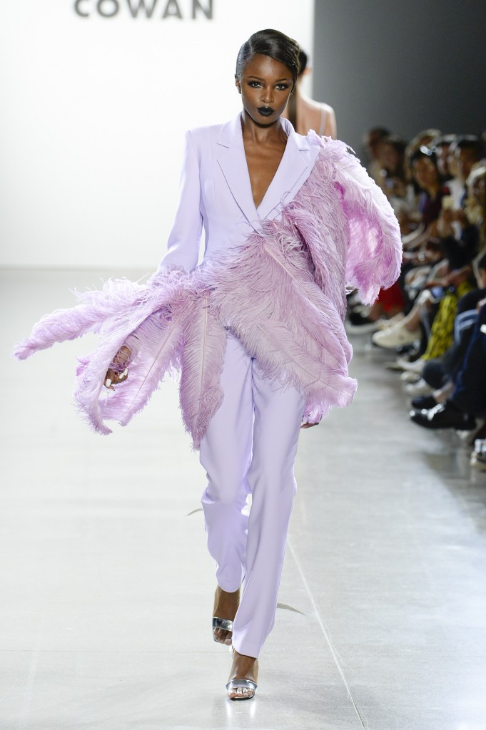 Christian Cowan's spring 2019 (Photo Courtesy of Vogue.com)