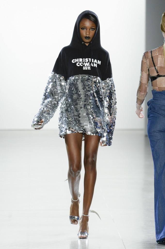 Christian Cowan's spring 2019 (Photo Courtesy of Vogue.com)