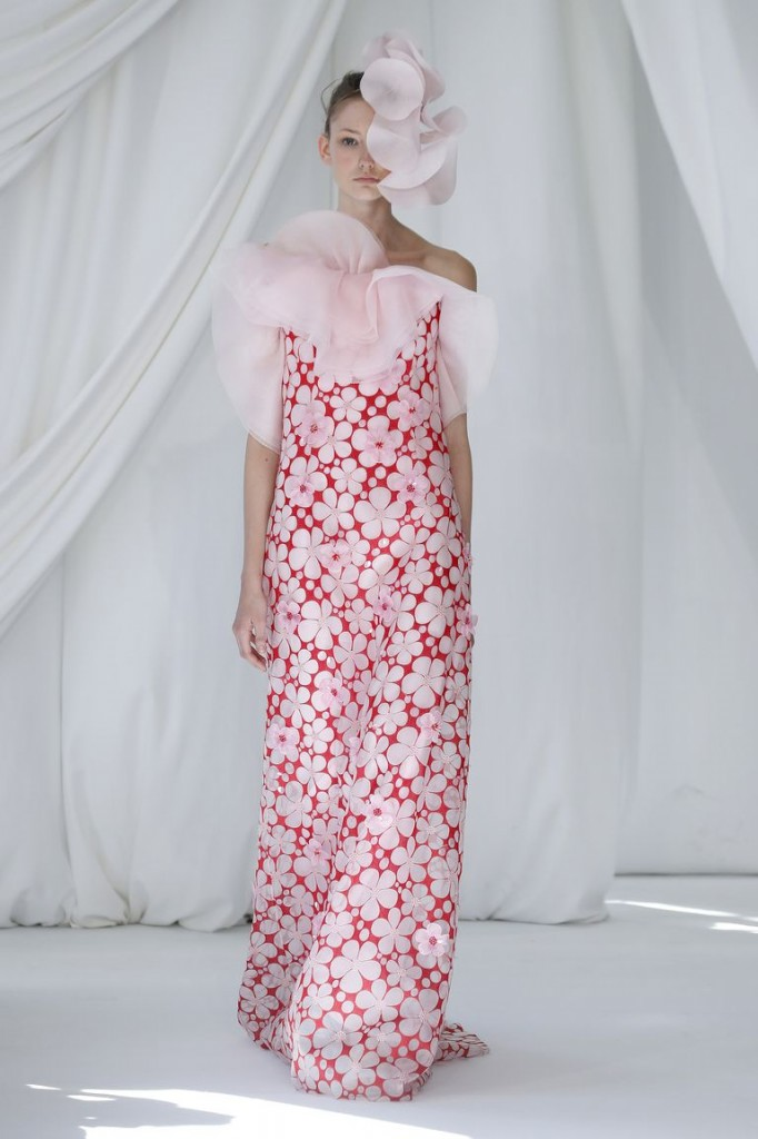 Delpozo's spring 2019 show (Photo Courtesy of Vogue.com)