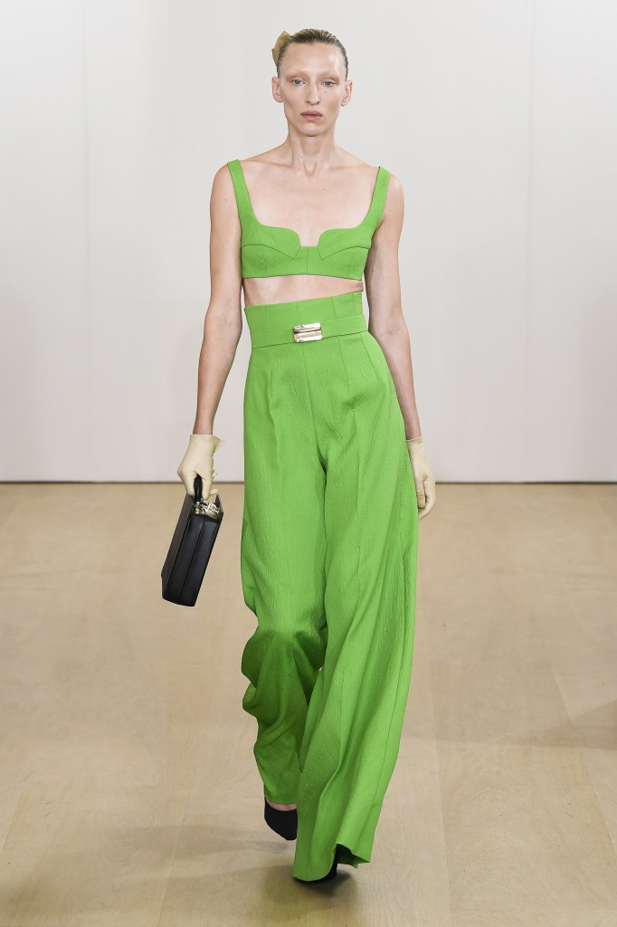 Emilia Wickstead's spring 2019 show (Photo Courtesy of Vogue.com)