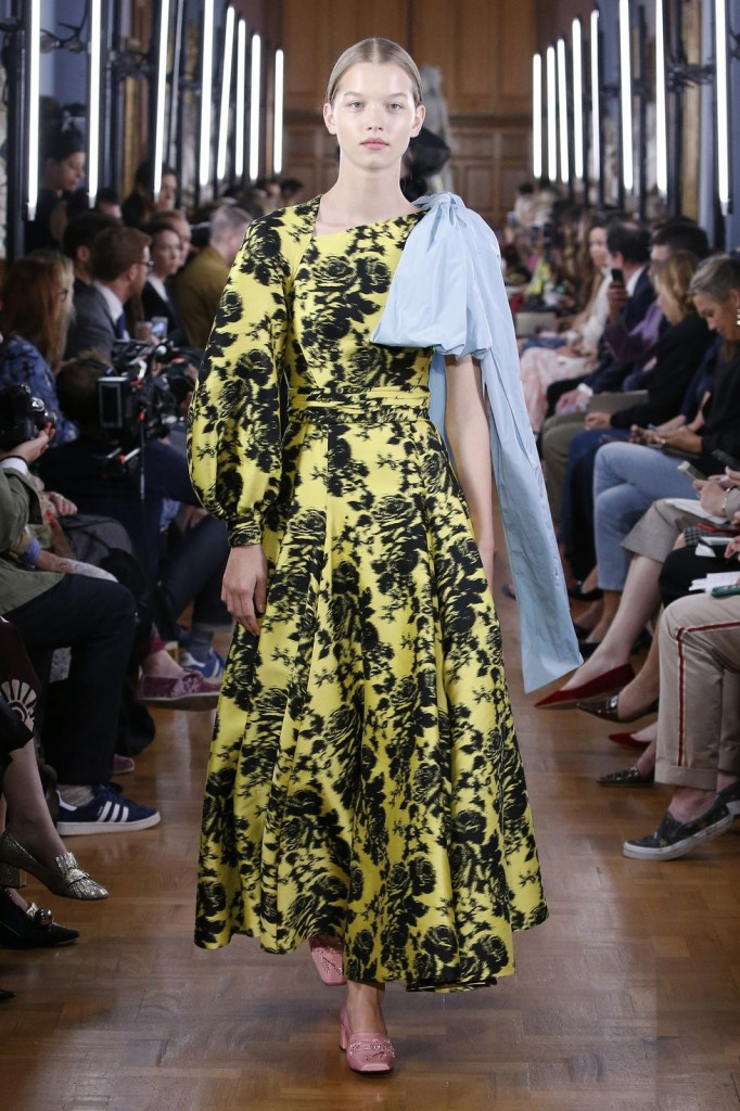 Erdem's spring 2019 show (Photo Courtesy of Vogue.com)