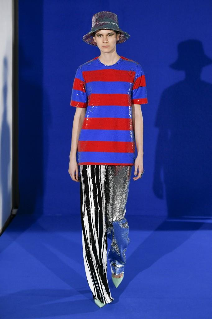 Halpern's spring 2019 show (Photo Courtesy of Vogue.com)