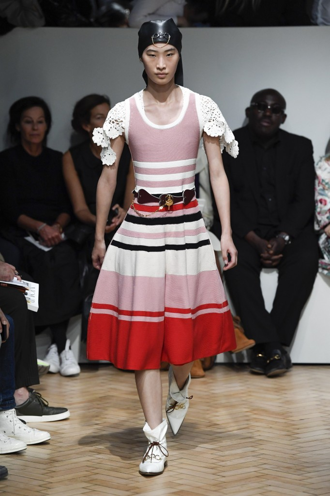JW Anderson's spring 2019 show (Photo Courtesy of Vogue.com)