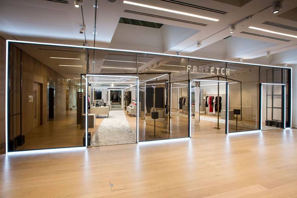 Farfetch's Store of the Future (SoF) (Courtesy farfetch.com)