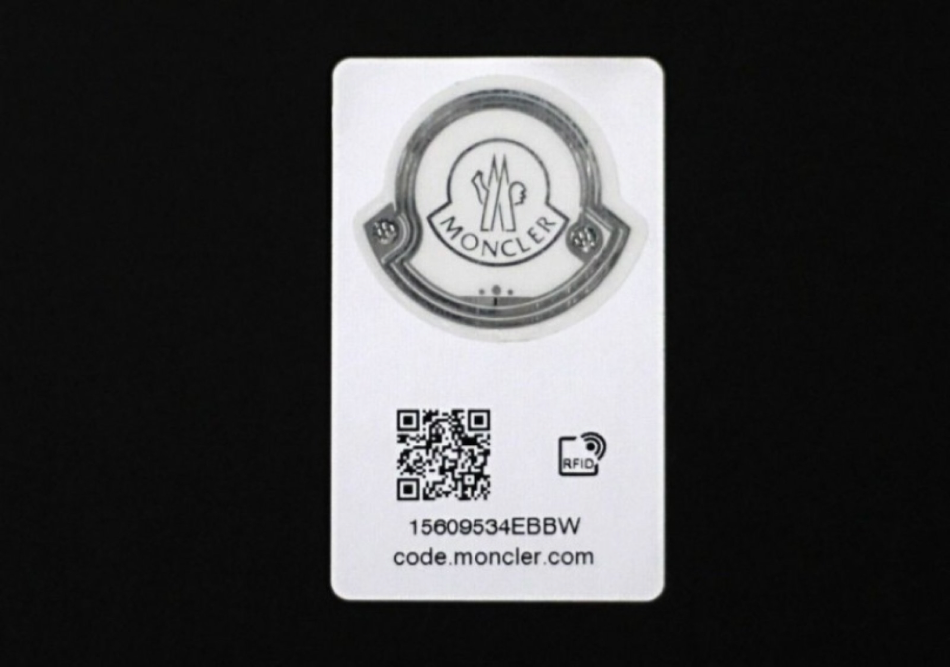 Moncler - embedded RFID chips to combat counterfeiting (Courtesy engadget.com)