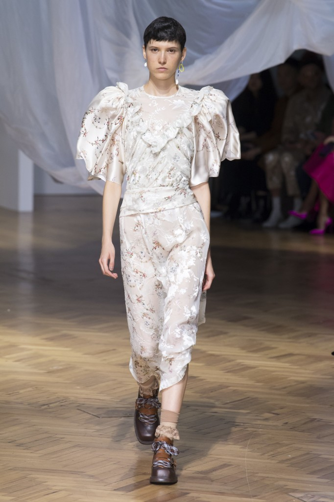 Preen by Thornton Bregazzi's spring 2019 show (Photo Courtesy of Vogue.com)