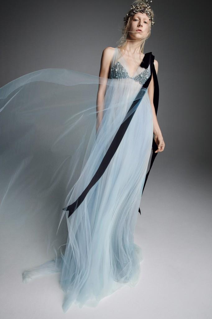 Vera Wang Bridal Look (Photo courtesy of the designer)
