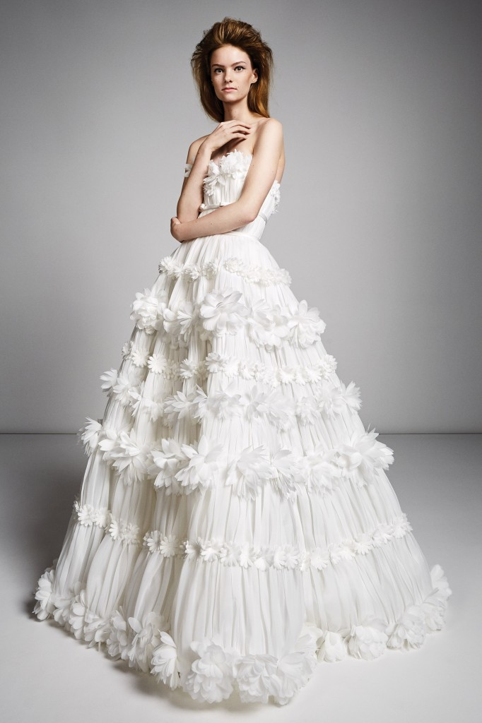 Viktor & Rolf Bridal Look (Photo courtesy of the designer)