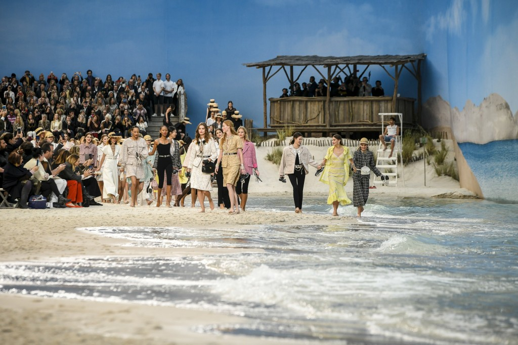 Chanel's spring 2019 Collection (Photo courtesy of Vogue)