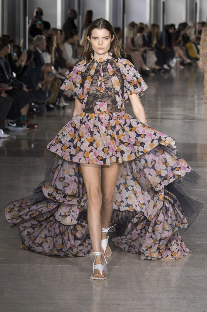 Giambattista Valli's spring 2019 Collection (Photo courtesy of Vogue)