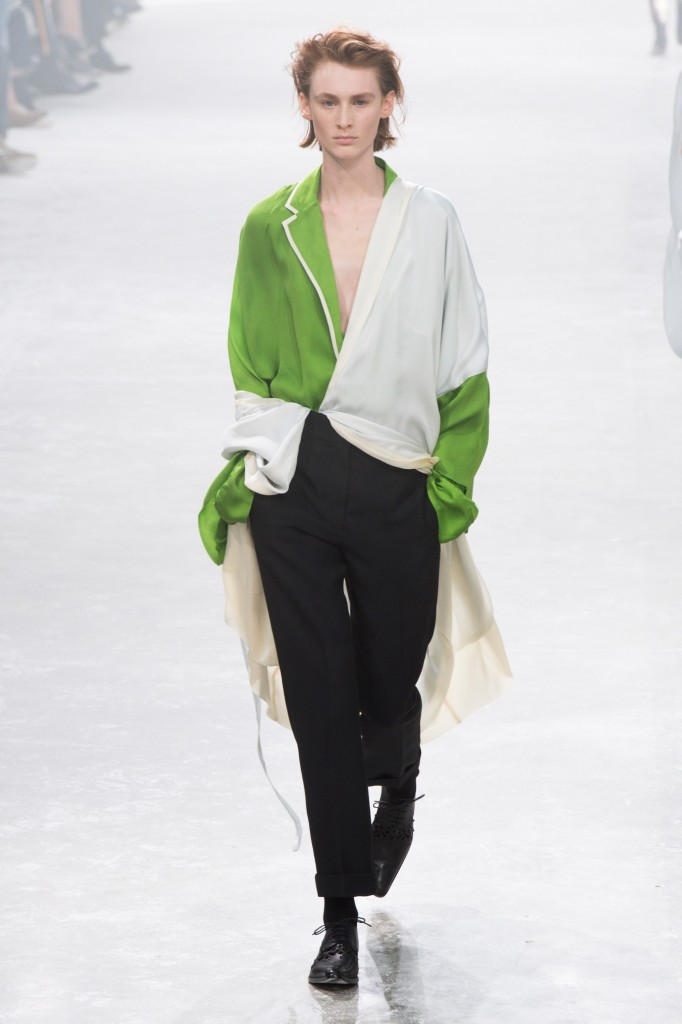 Haider Ackermann's spring 2019 Collection (Photo courtesy of Vogue)
