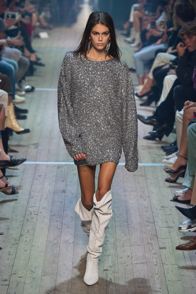 Isabel Marant's spring 2019 Collection (Photo courtesy of Vogue)