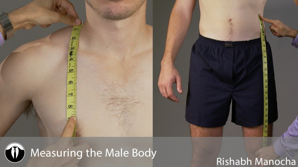 Measuring the Male Body