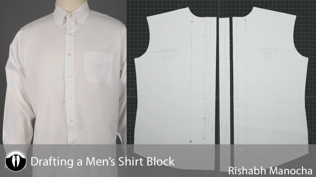 Men's Shirt Block