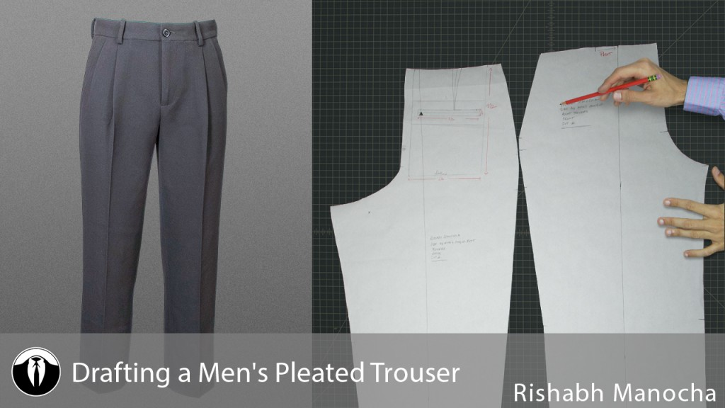 Men's Pleated Trouser