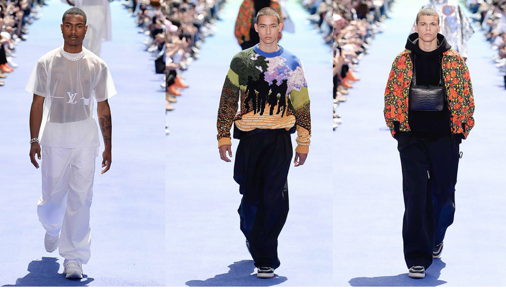 Louis Vuitton SS19 by Virgil Abloh (Courtesy of Vogue Runway)