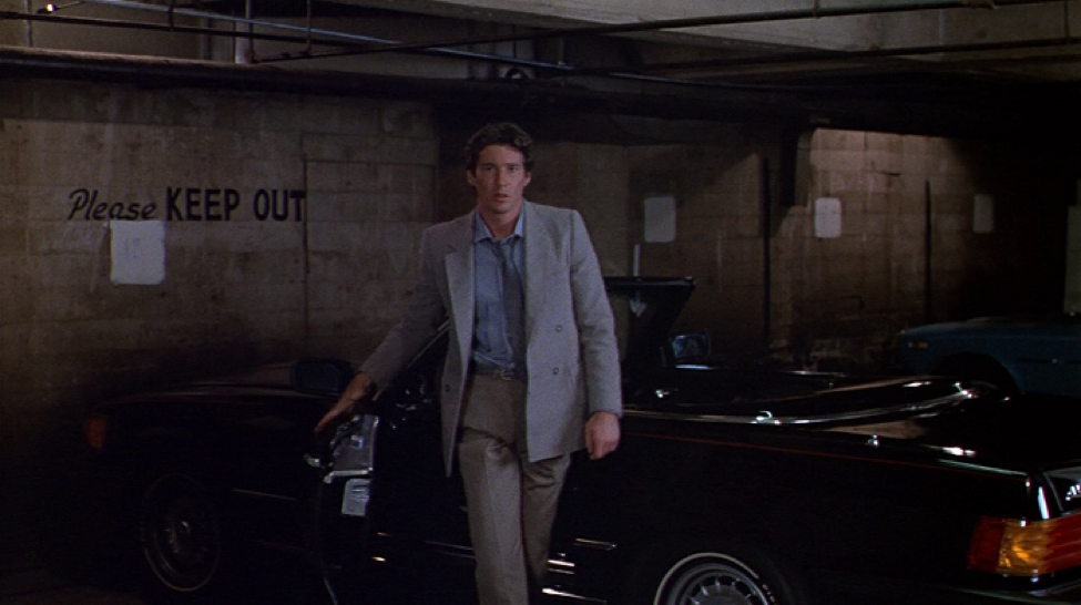 Richard Gere in Armani from the movie American Gigolo (Courtesy of Classiq me)
