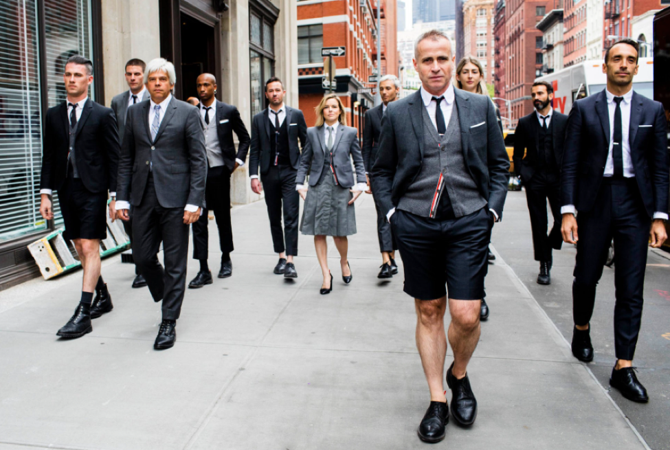 Thom Browne (Courtesy The New York Times)