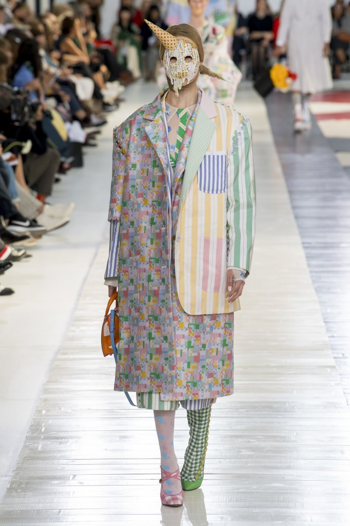 Thom Browne's spring 2019 Collection (Photo courtesy of Vogue)