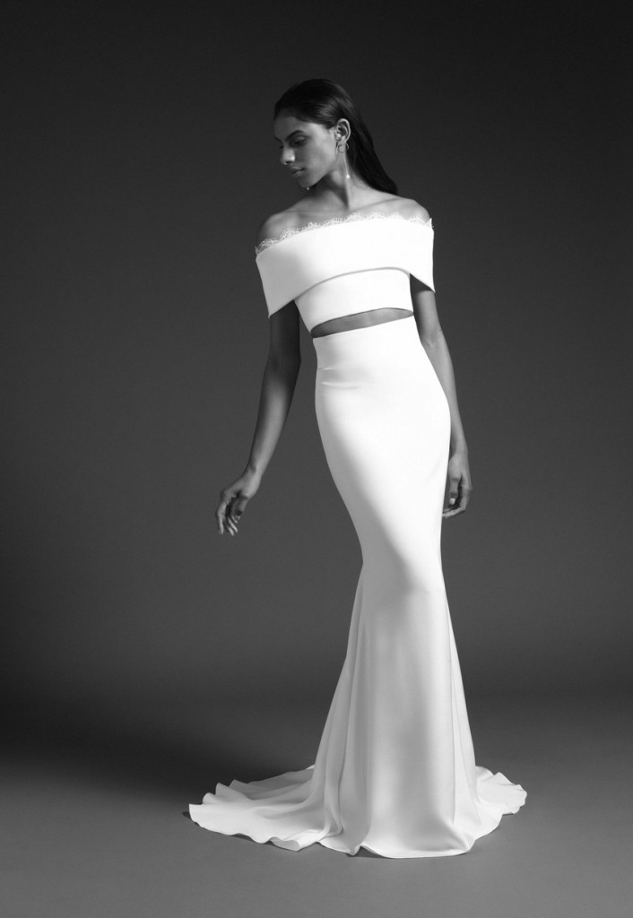 Cushnie Bridal Look (Photo courtesy of the designer)