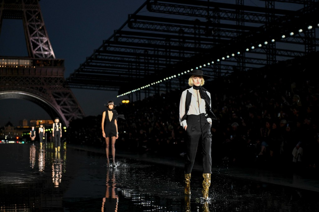 Saint Laurent's spring 2019 Collection (Photo courtesy of Vogue)