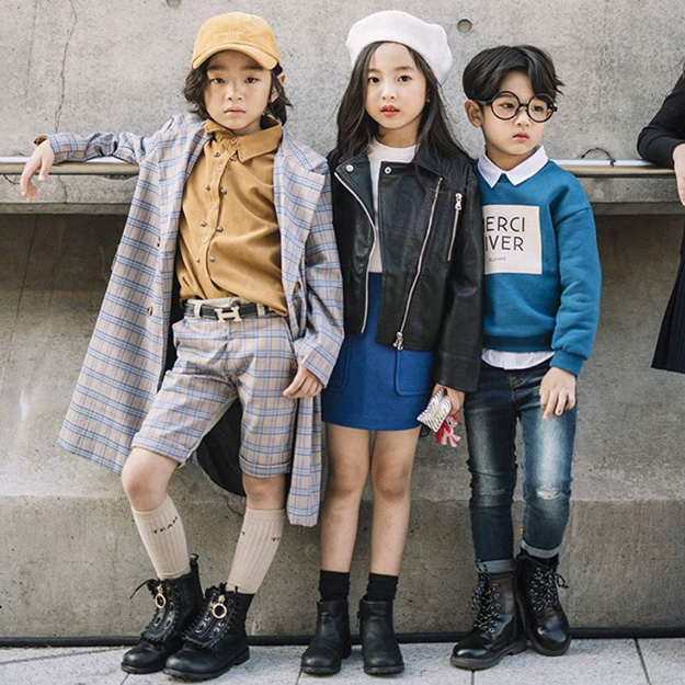 Coolest Kids at Seoul Fashion Week spring 2018 (Photo courtesy of Buro 24/7)