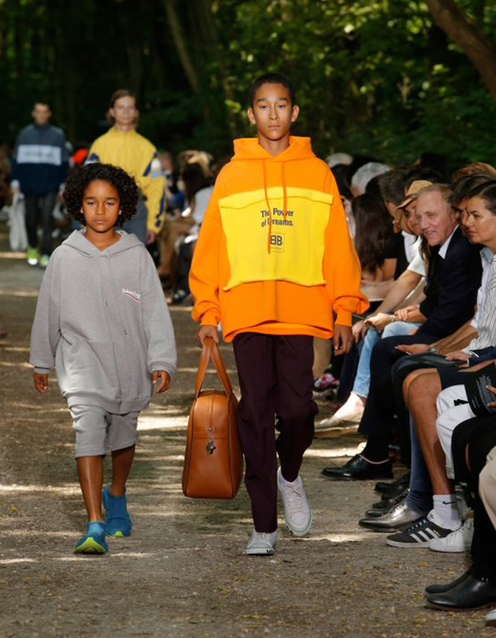 Balenciaga Kids fall 2018 (Photo courtesy of Balenciaga)