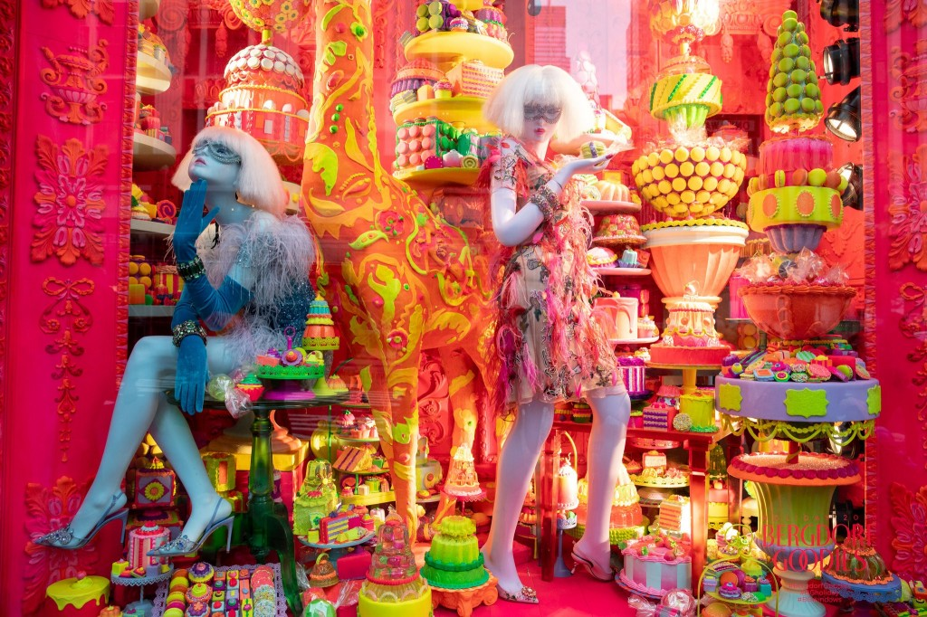 Bergdorf Goodman's Holiday Windows 2018 in NYC (Courtesy Photo)
