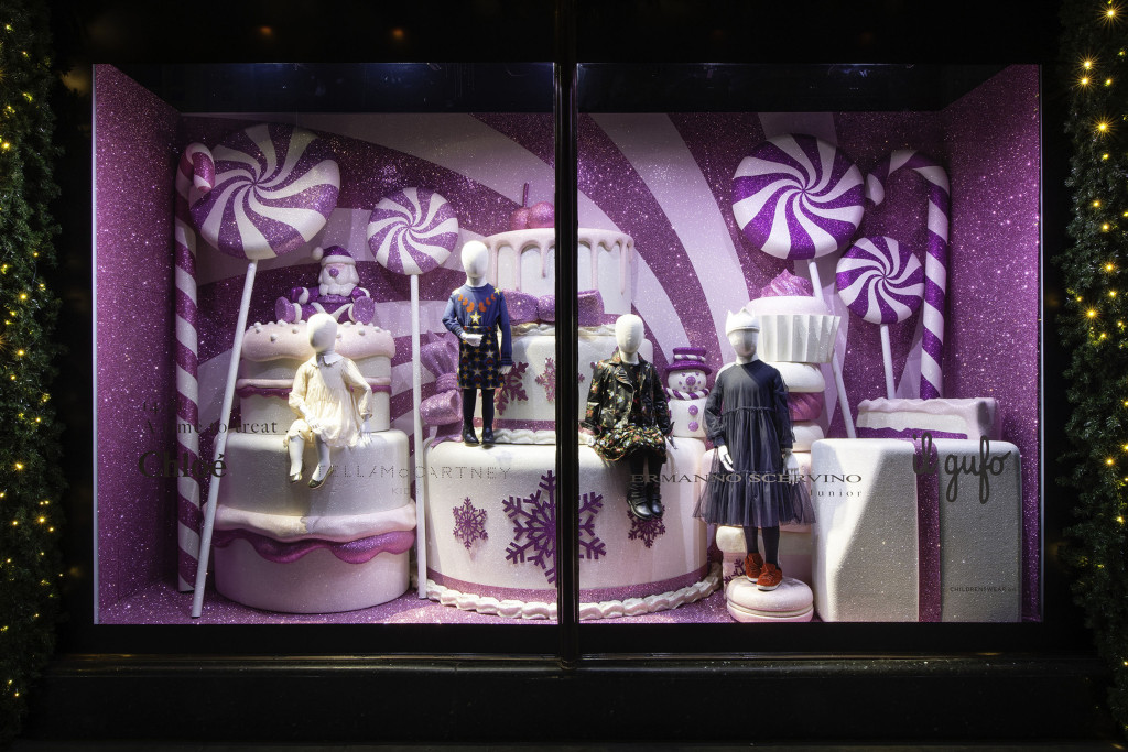 Harrods in London Holiday Window Display (Courtesy Photo)