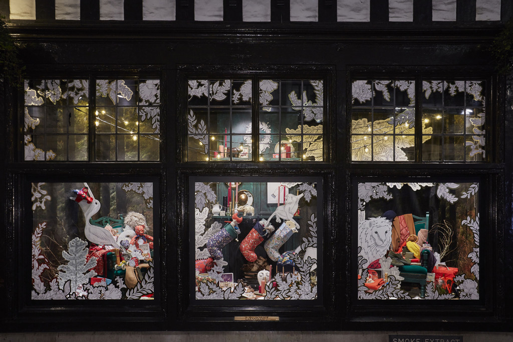 Liberty in London Holiday Window Display (Courtesy Photo)