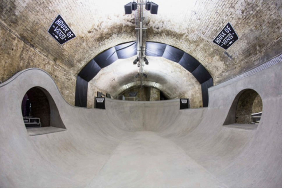 House of Vans   Deep Bowl    London Skatepark                                            (Courtesy of Skateparks)