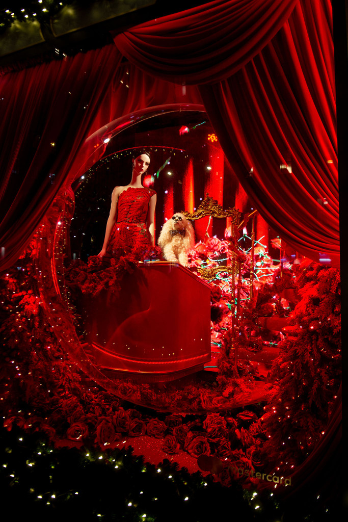 Saks Fifth Avenue Holiday Windows 2018 in NYC (Courtesy Photo)