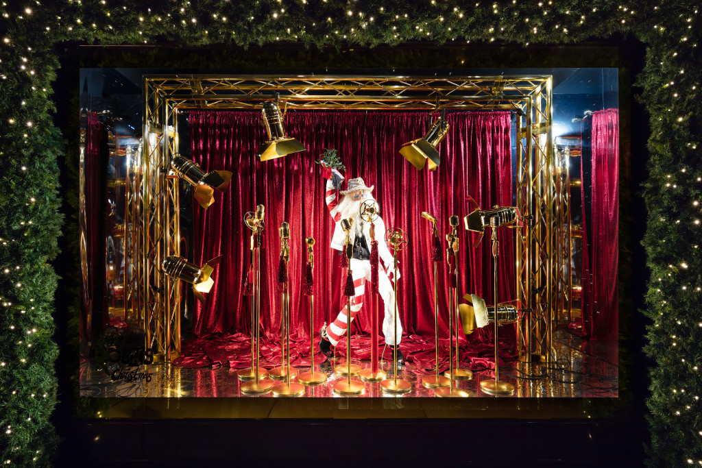 Selfridges in London Holiday Window Display (Courtesy Photo)