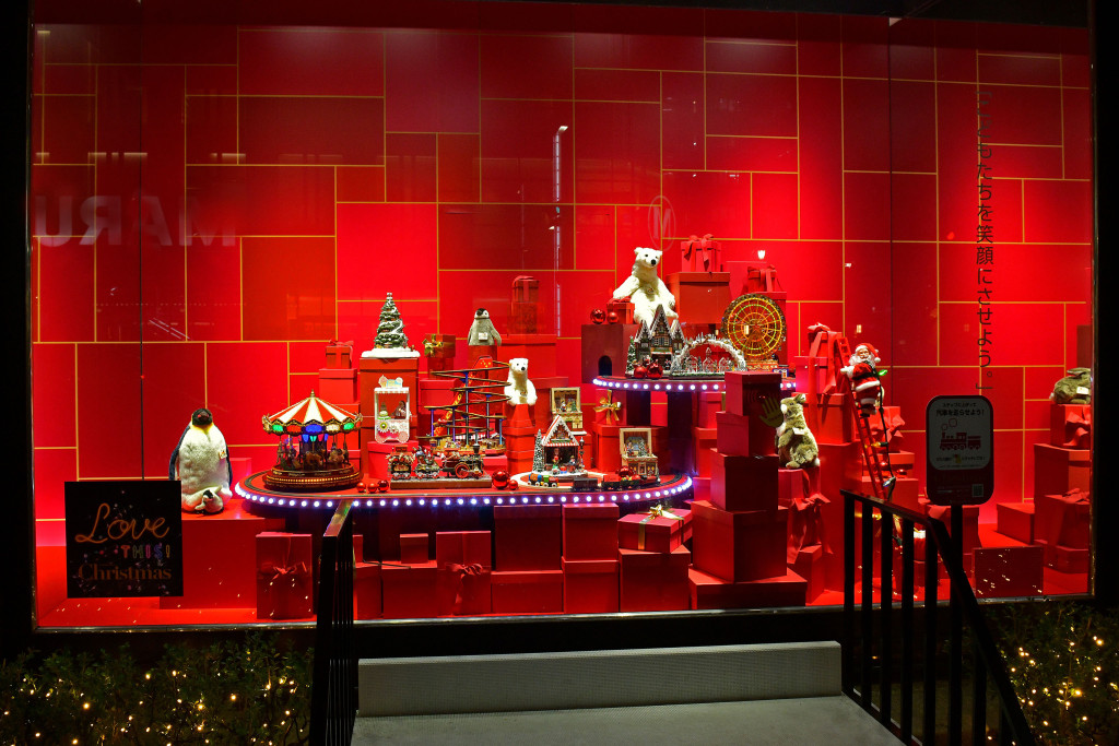 Takashimaya Holiday Windows 2018 in Tokyo (Courtesy Photo)