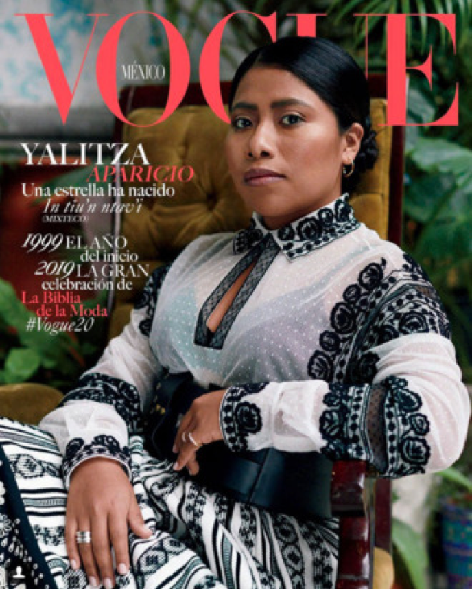 Courtesy of the Cut (Yalitza Aparicio)