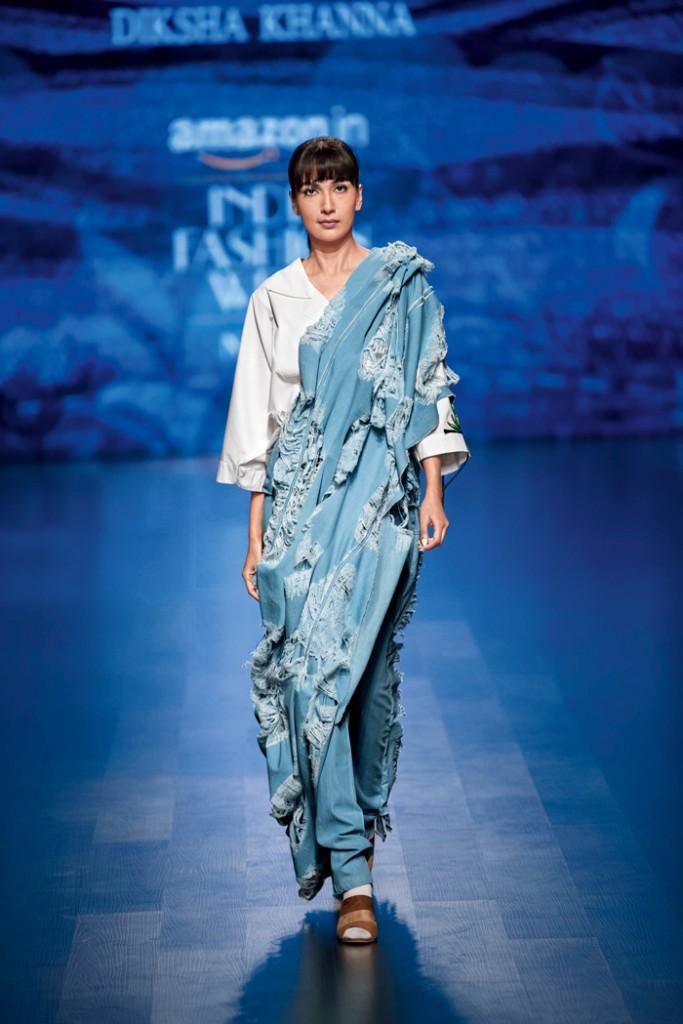 Diksha Khanna's runway show