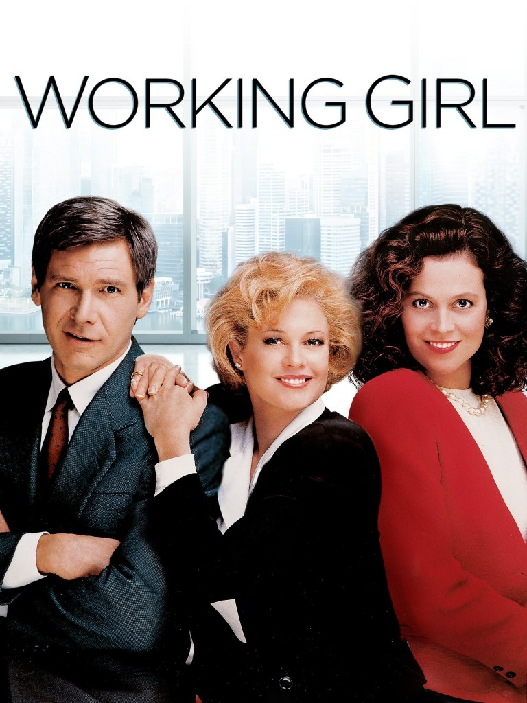 Harrison Ford, Melanie Griffith and Sigourney Weaver in Working Girl