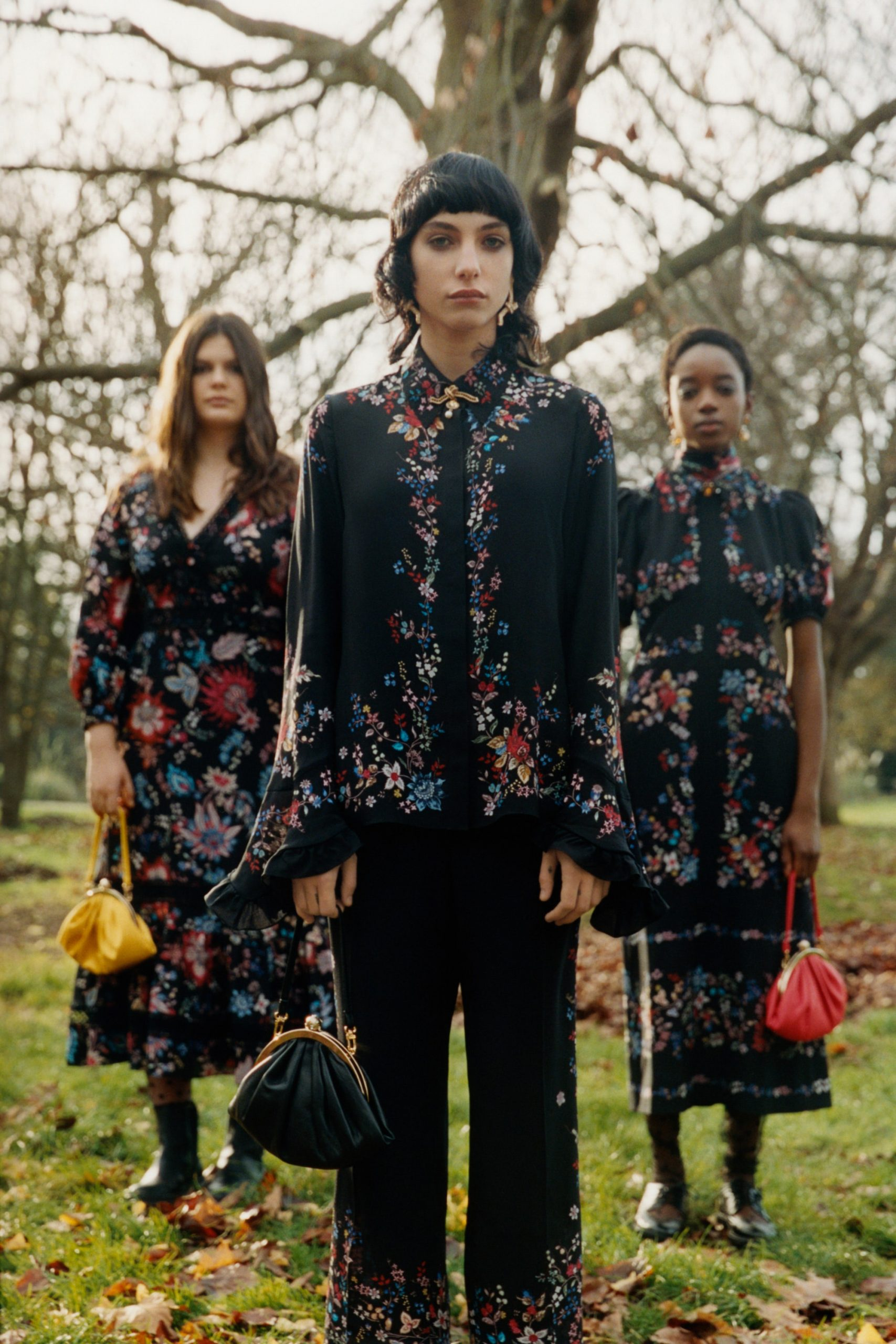 Looks from Erdem's Pre-Fall 2021 Collection. Photo Credit Erdem