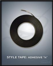 "Adhesive 1/4"" Style Tape"