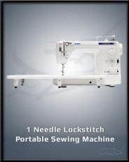 1 Needle Lockstitch Portable Sewing Machine