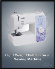 Light Weight Full Featured Sewing Machine