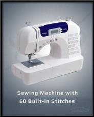 Sewing Machine w 60 Built In Stitches