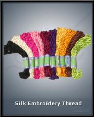 Silk Embroidery Thread