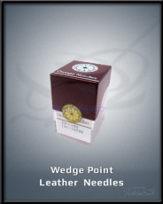 Wedge Point Leather Needles