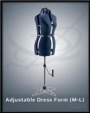 Adjustable Dress Form M-L