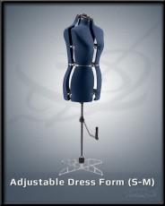 Adjustable Dress Form S-M