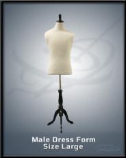 Male Dress Form Size Large