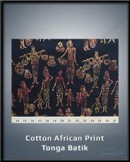 Cotton African Print Tonga Batik